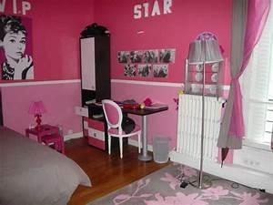 chambre fille rose photo 1 1 la chambre de notre With deco chambre fille rose