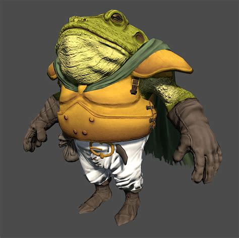 Frog From Chrono Trigger Redux — Polycount