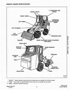 Bobcat 1600 Skid Steer Loader Service Repair Workshop Manual