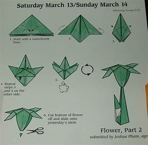 How To Make Origami Flowers Step By Step
