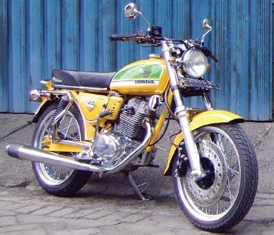 Modifikasi Motor Gl Max Jadi Cb by Modifikasi Honda Gl Max Jadi Cb 100 Gaya Retro Oto Trendz