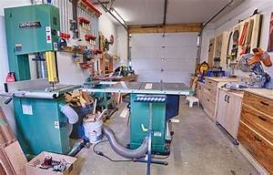Michael's Garage Workshop - The Wood Whisperer