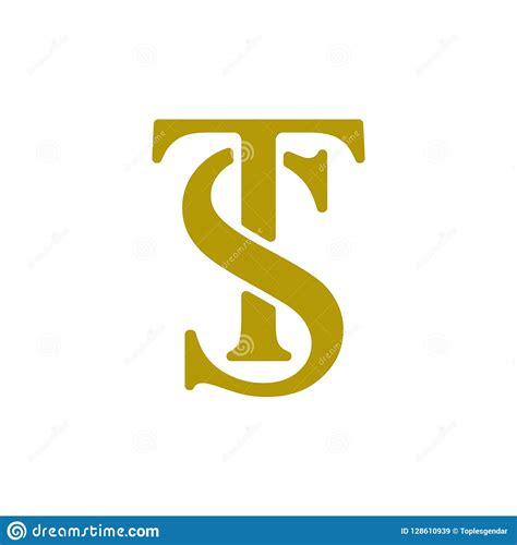 Set Of Initial St Logo Design Vector Template Stock ...