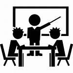 Icons College Classroom Teacher Vector Education Newdesignfile