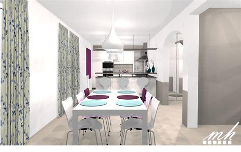 cuisine manger salon salle a manger cuisine ouverte fabulous cuisine