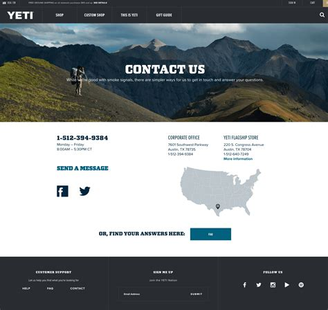30 of the Best 'Contact Us' Pages You'll Want to Copy