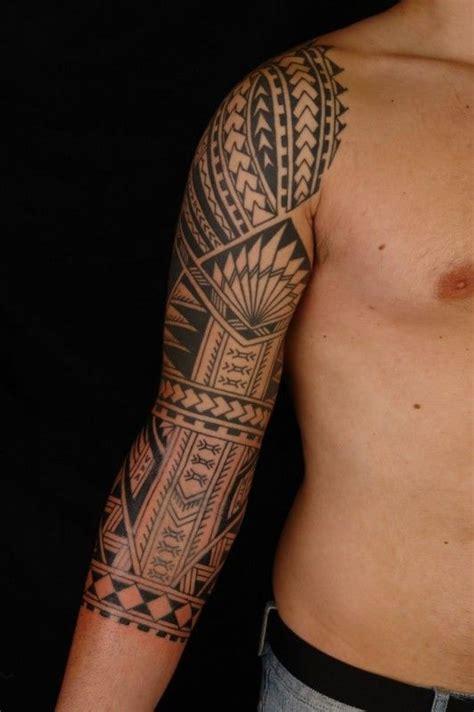 tatouage maori homme 233 paule avant bras tatoo maori and