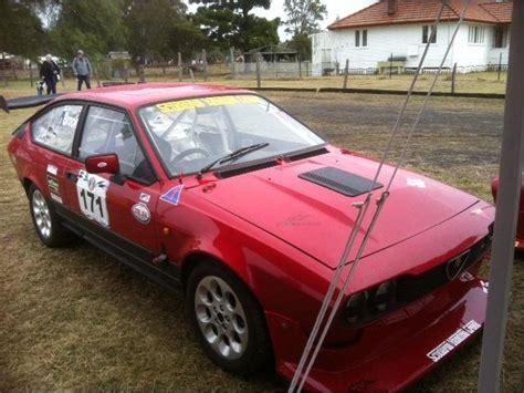 alfa romeo gtv  track car yandina creek racing