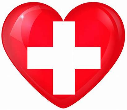 Flag Switzerland Heart National Clipart Yopriceville Flags
