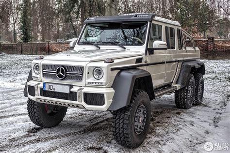 Mercedesbenz G 63 Amg 6x6  19 January 2016 Autogespot