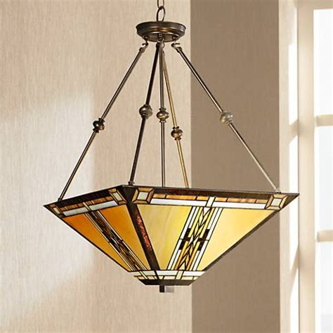 mission style kitchen lighting walnut mission style pendant chandelier 43240 ls plus 7540