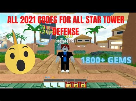 There are a large number of roblox games out there with a variety of themes. Tower Defense Codes 2021 | StrucidCodes.org