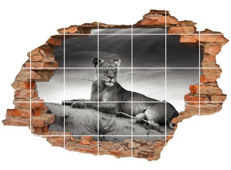 Fliesenaufkleber Afrika by Fliesenaufkleber Wanddurchbruch L 246 Win L 246 We Safari Afrika