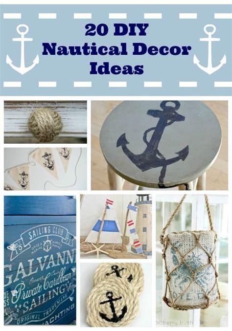 diy nautical decor ideas decorating ideas lighthouse