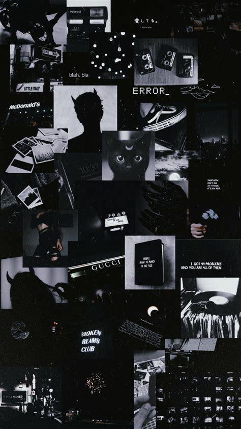 aesthetic wallpaper estetik hitam