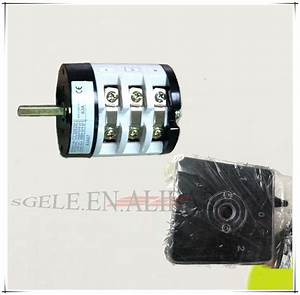W31 Rotary Switch 200a 7pole Panel Selector Switch 3