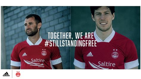 Aberdeen Football Club - 20/21 home and away kits have ...