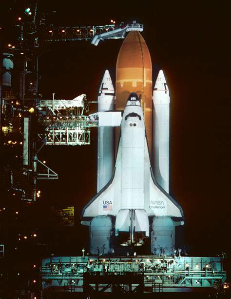 space shuttle challenger  night   fatal