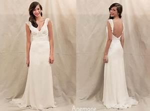 Robe De Mariée Dos Nu Plongeant : robe longue dos nu plongeant ~ Melissatoandfro.com Idées de Décoration