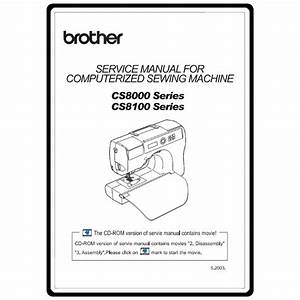 Service Manual  Brother Cs8000   Sewing Parts Online
