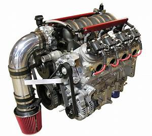 Ls1 Engine For An Airboat Setup  Equipped With Corvette
