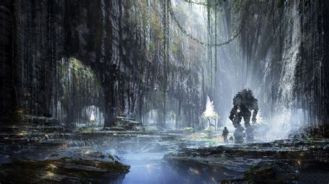wallpaper titanfall high wall cave hd games