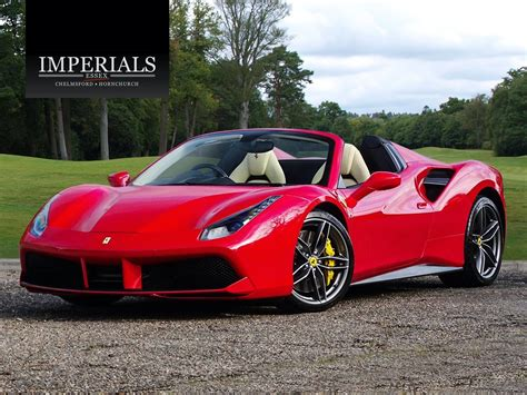 488 └ ferrari └ cars & trucks └ automotive all categories antiques art automotive baby books business & industrial cameras & photo cell phones & accessories clothing, shoes & accessories coins & paper money skip to page navigation. Used 2017 Red Ferrari 488 Spider for sale | PistonHeads UK