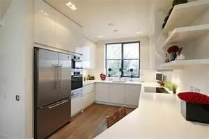 Küche U Form : u form k che 35 designideen f r ihre moderne k cheneinrichtung sch ner wohnen pinterest ~ Sanjose-hotels-ca.com Haus und Dekorationen