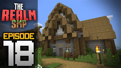 Minecraft Pe Barn by Realms Multiplayer Survival Ep 18 Ive Been Pranked