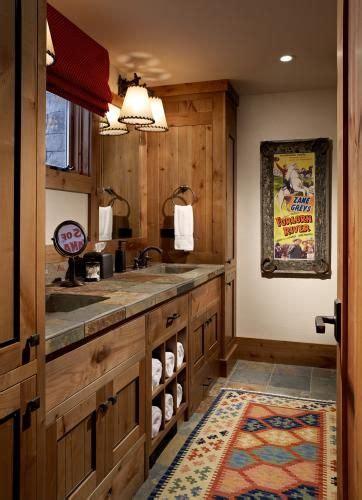 western rustic cabin bathroom rustic country decor