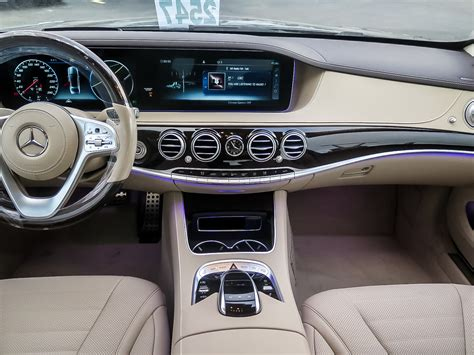 Needlessly to say, any s560 cabriolet incorporates a brand new engine less than the hood. New 2020 Mercedes-Benz S560 4MATIC Sedan (LWB) 4-Door Sedan in Kitchener #39386 | Mercedes-Benz ...