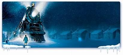 Polar Express Train Christmas Clip Banner Party