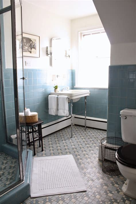 33 amazing and ideas of fashioned bathroom floor tile