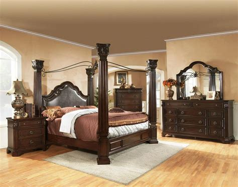 Wood Canopy Bedroom Sets by Wrought Iron Canopy Beds New Bed Headboards Design