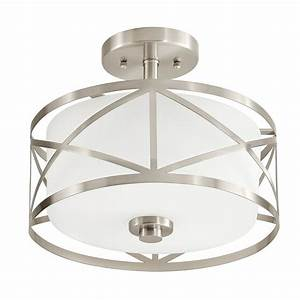 Kichler lighting edenbrook in w brushed nickel