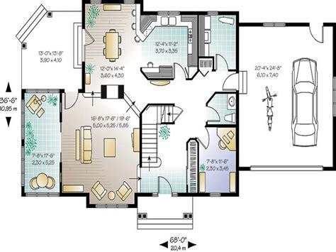 home plans open concept house plans modern house