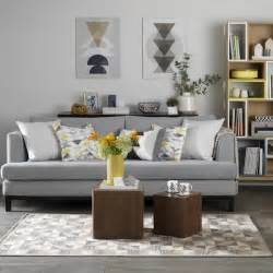 grey livingroom grey living room with retro textiles in shades of mustard and teal grey living room ideas