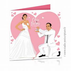 Demande En Mariage Original : dessin coeur mariage couleur rose ~ Dallasstarsshop.com Idées de Décoration