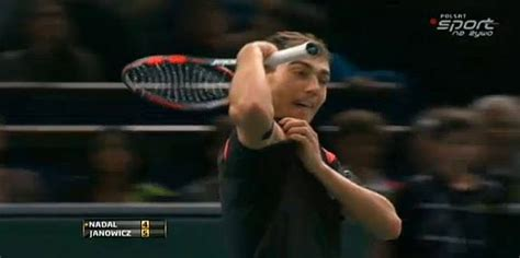 Nadal vs Janowicz Highligths with 235 km/h serve - Клип смотреть онлайн с ютуб youtube, скачать бесплатно