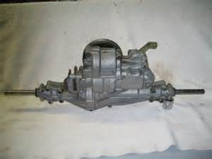 transaxle for john deere stx38 peerless 915 o12b yellow