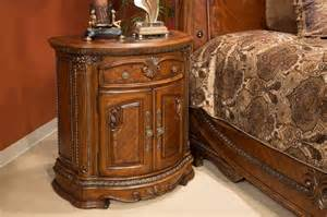 michael amini 4 piece bella veneto sleigh bedroom set