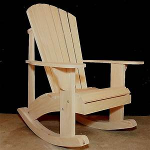 Adirondack Rocking Chair RETROFIT Kit Plans for the