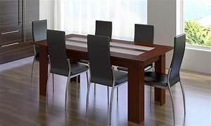 Belles chaises de salle a manger maison design bahbecom for Meuble salle À manger avec chaise salle a manger cuir beige