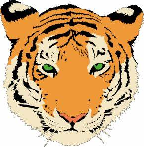 Happy Tiger Face Clip Art | Clipart Panda - Free Clipart ...
