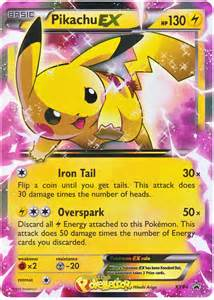 pikachu ex pokemon cards images