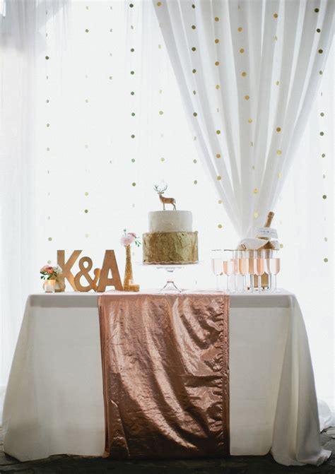 Rose and gold wedding ideas Wedding Inspiration 100