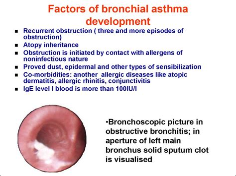 Bronchitis In Children Online Presentation