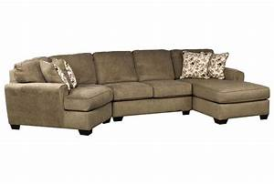 Patola park 3 piece cuddler sectional w raf cornr chaise for 3 piece sectional sofas with chaise