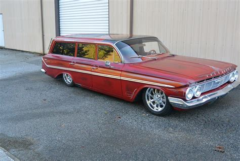 Station Wagon For Sale by Fresh Build 1961 Chevrolet Chevy Parkwood Station Wagon