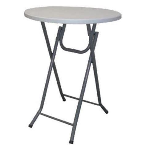 table mange debout pliante table bar pliante mange debout housse noir achat vente table salle a manger pas cher